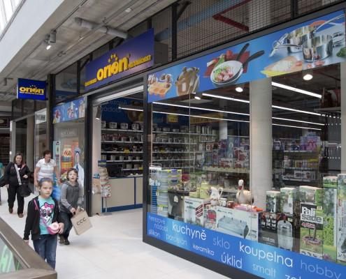 Orion – český obchod pro domácnost – Praha Lužiny, Děčín